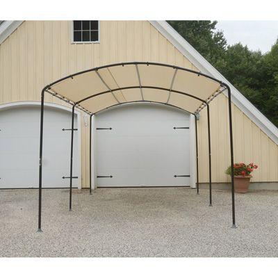 Portable Generators Pressure Washers Power Tools Welders Canopy Roof Structure Black Steel Frame