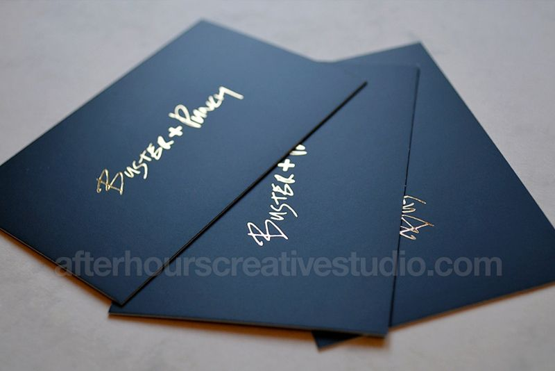 Luxury Business Cards Foil Business Cards Laminated Business Cards Gold Foil Business Cards