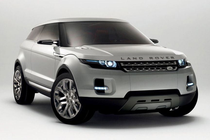 cool looking new land rover evoque app for land rover or range rover land