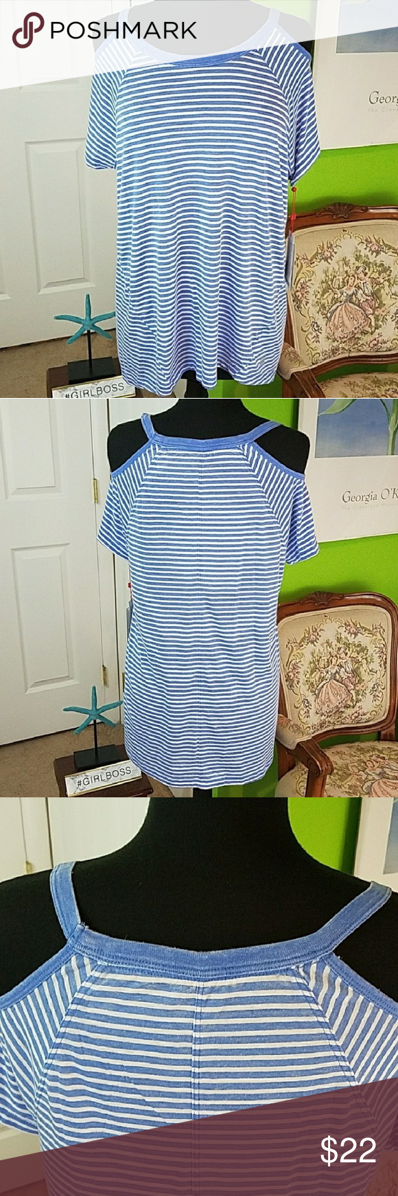 Medium Tommy Hilfiger Cold Shoulder Tee