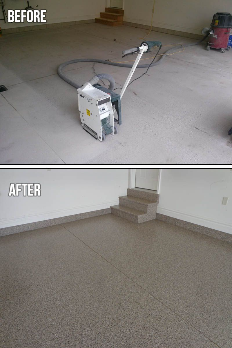 Custom Garage Epoxy Floor Designs: You Can Use Custom Blends With
