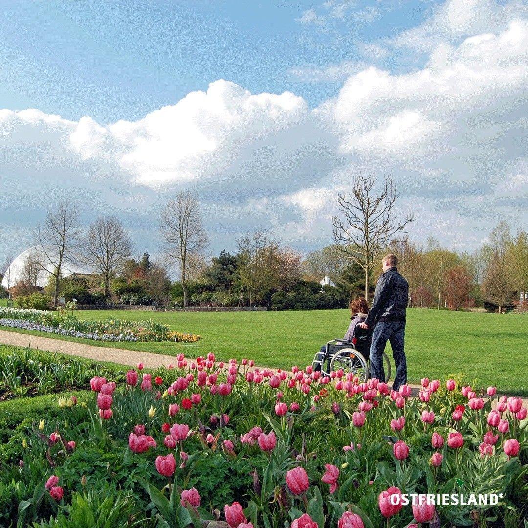 Im Kurort Bad Zwischenahn Lohnt Sich Ein Besuch Des Park Der Garten Der Auf 140 000 Quadratmetern Ein Besucherzentrum Und Uber 40 T Dolores Park Park Travel