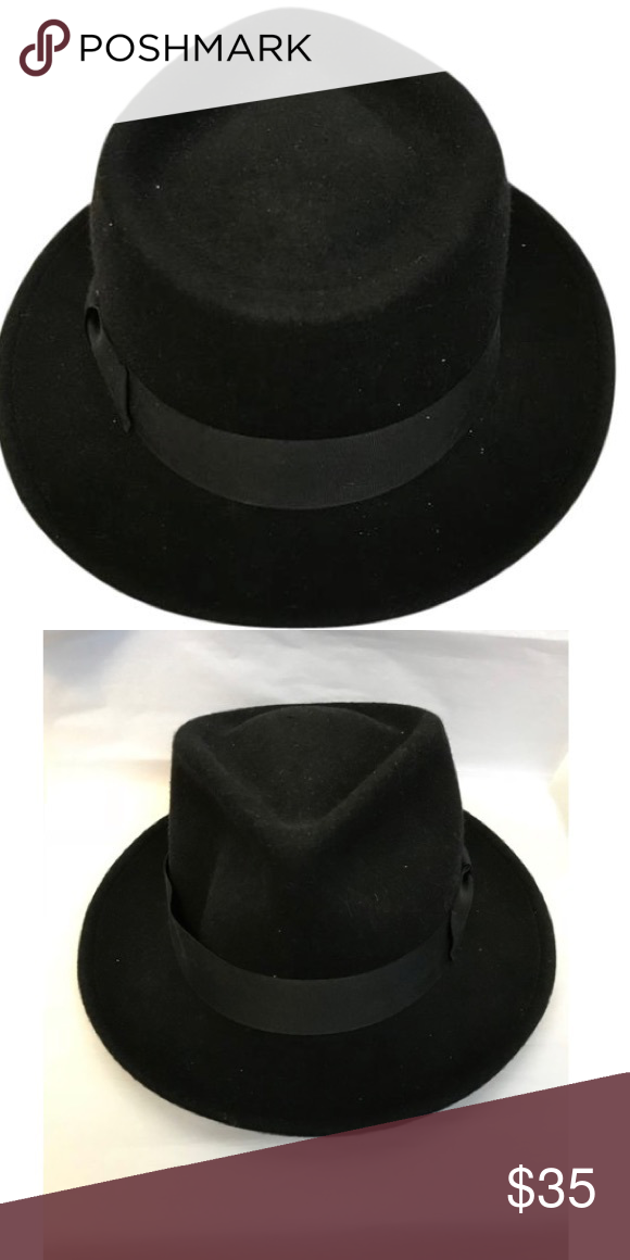 Hats in the Belfry. Black Size Large felt hat This Brand is Hats in ... 38381a62361