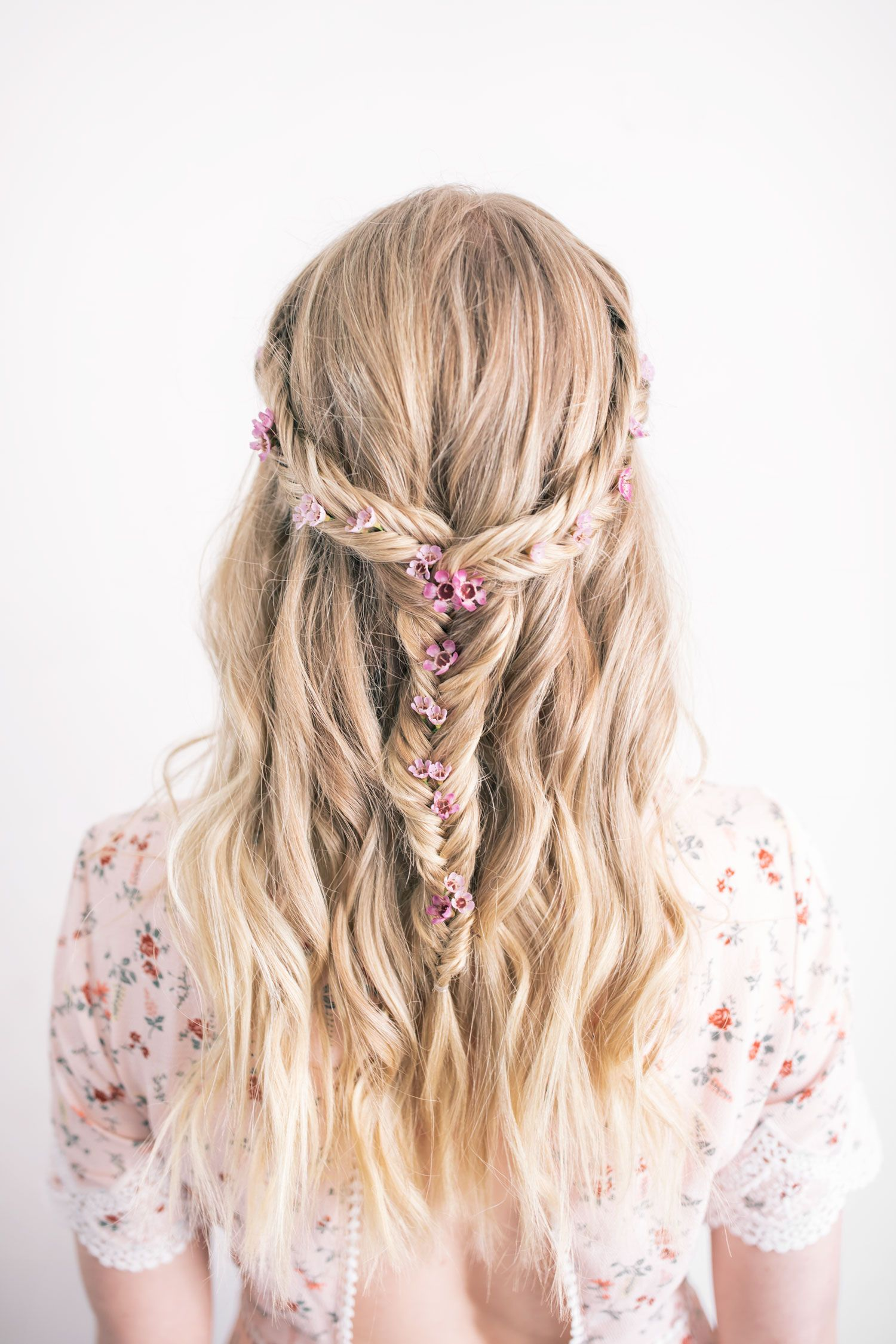 The Prettiest Festival Hairstyle Pinterest