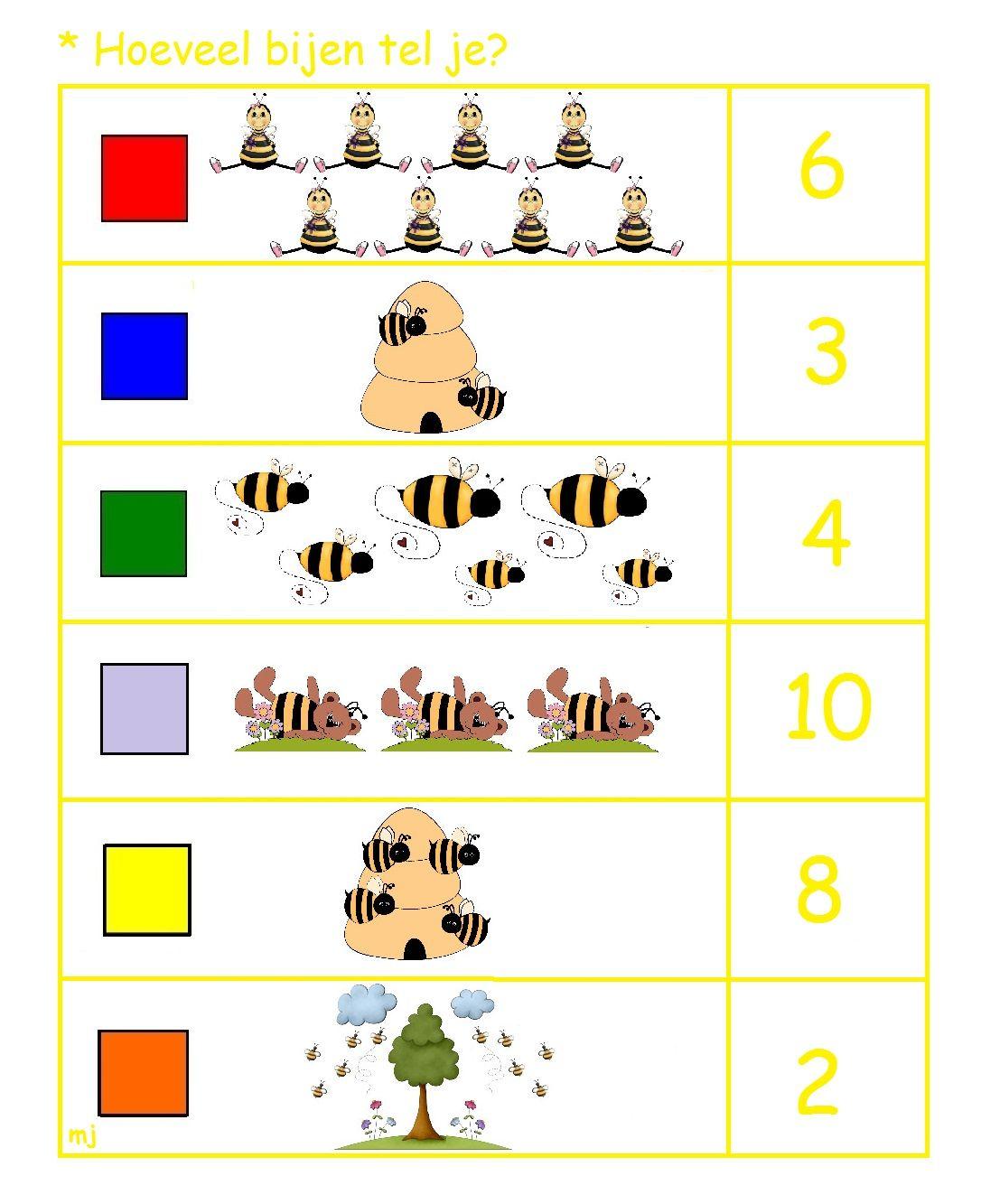 Hoeveel Bijen Tel Je 1 2
