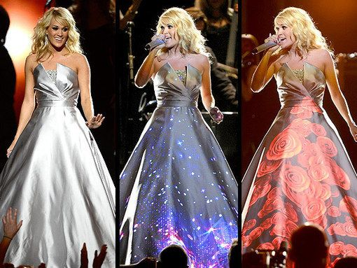 Carrie underwoods glowing grammys dress all the carrie silver carrie underwoods glowing grammys dress all the junglespirit Choice Image