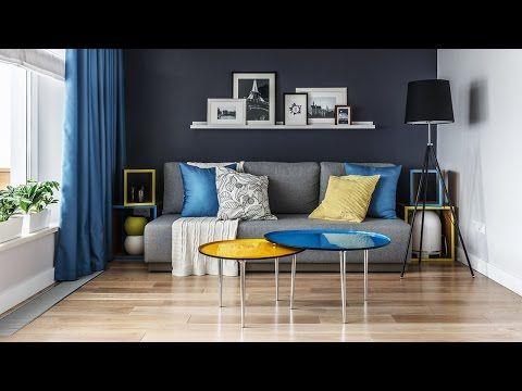 (147) Обзор однокомнатной квартиры 34 кв.м. Дизайн интерьера. - YouTube