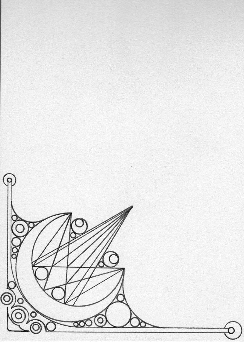 Abstract Page Border by MisterA