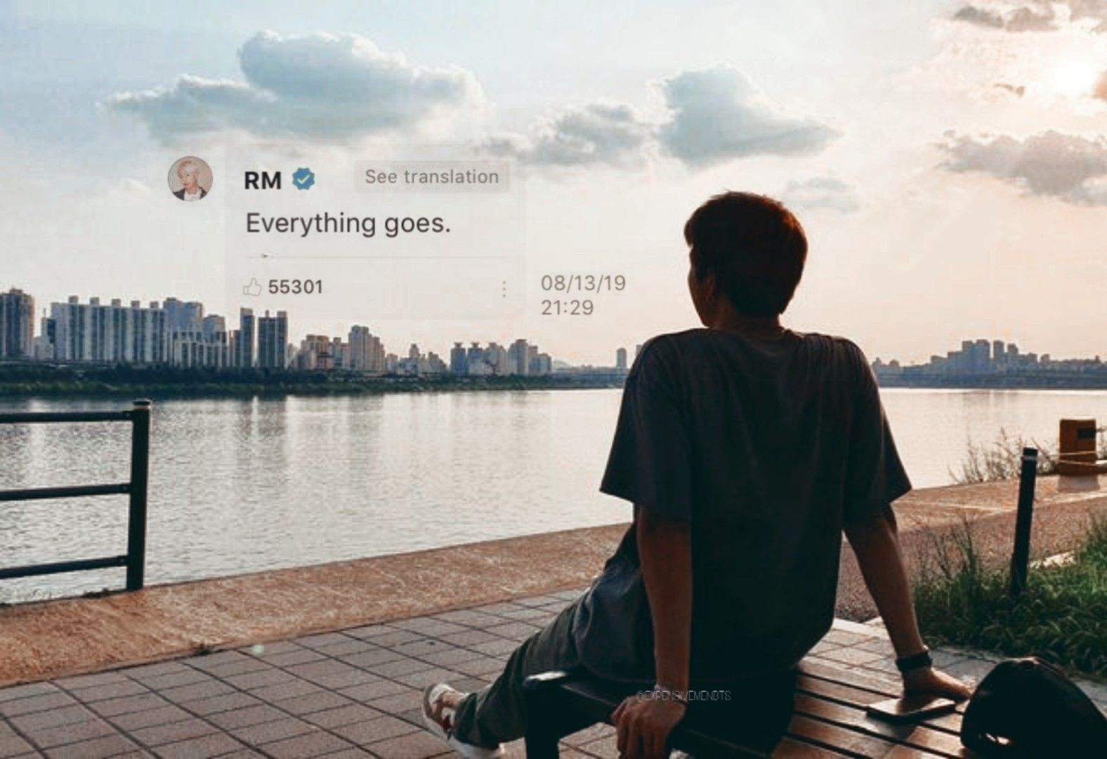 Bts Official On Twitter In 2021 Bts Wallpaper Lyrics Bts Quotes Bts Laptop Wallpaper Bts quotes wallpaper for laptop