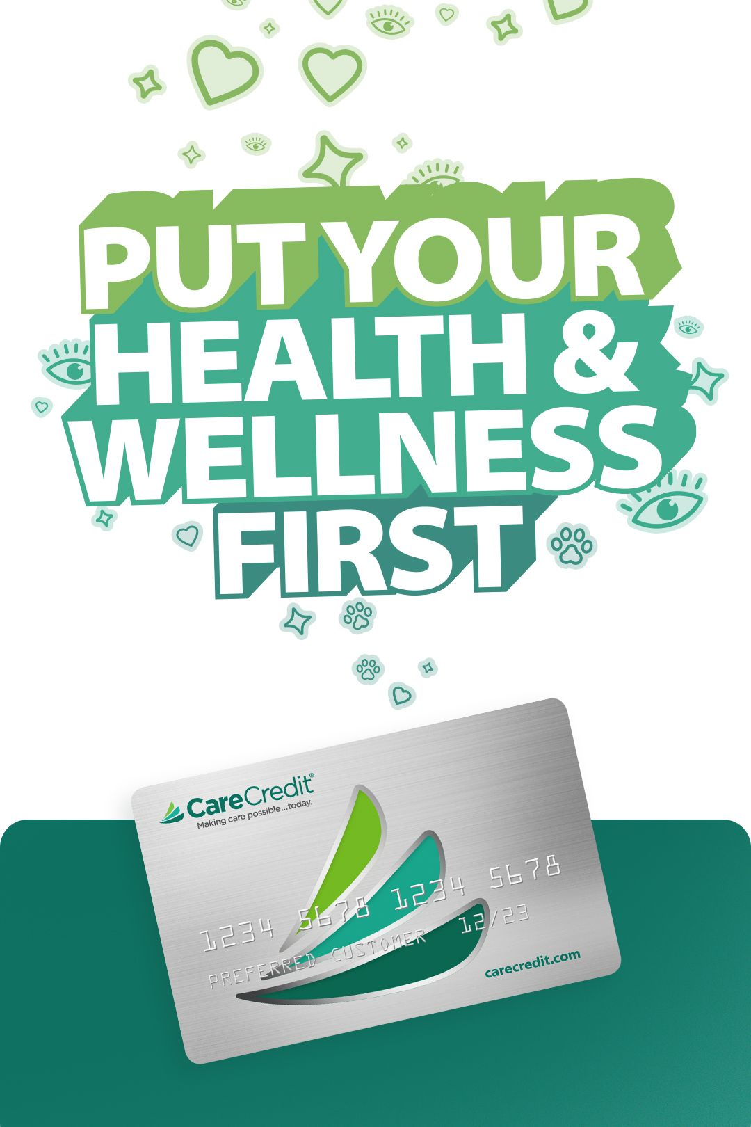 Go Ahead, Put Yourself First With This Dedicated Healthcare Card. Learn More Today.