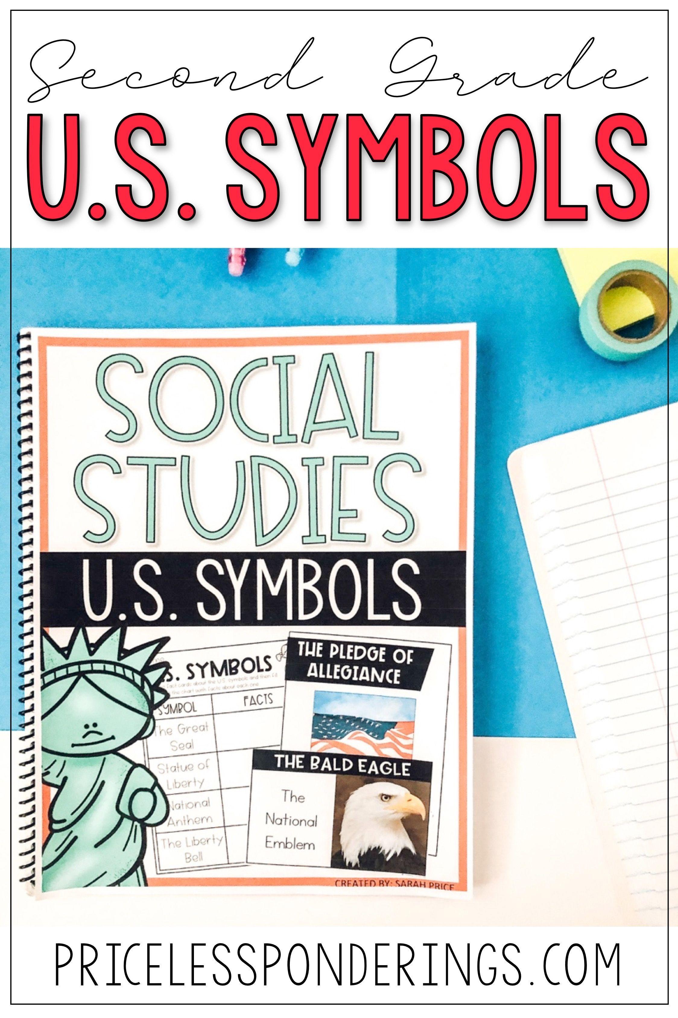 U S Symbols Activities And Worksheets