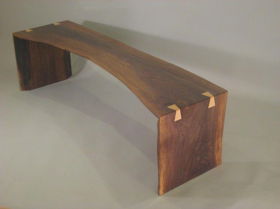 Furniture Traditional Wood Slab Benches Design Rustic Wood Slab