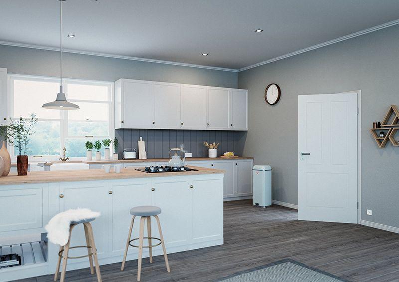 Usa interior model Kopenhagen vopsita alb (mit Bildern