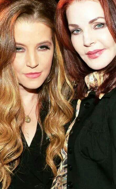 PRISCILLA&LISA MARIE PRESLEY