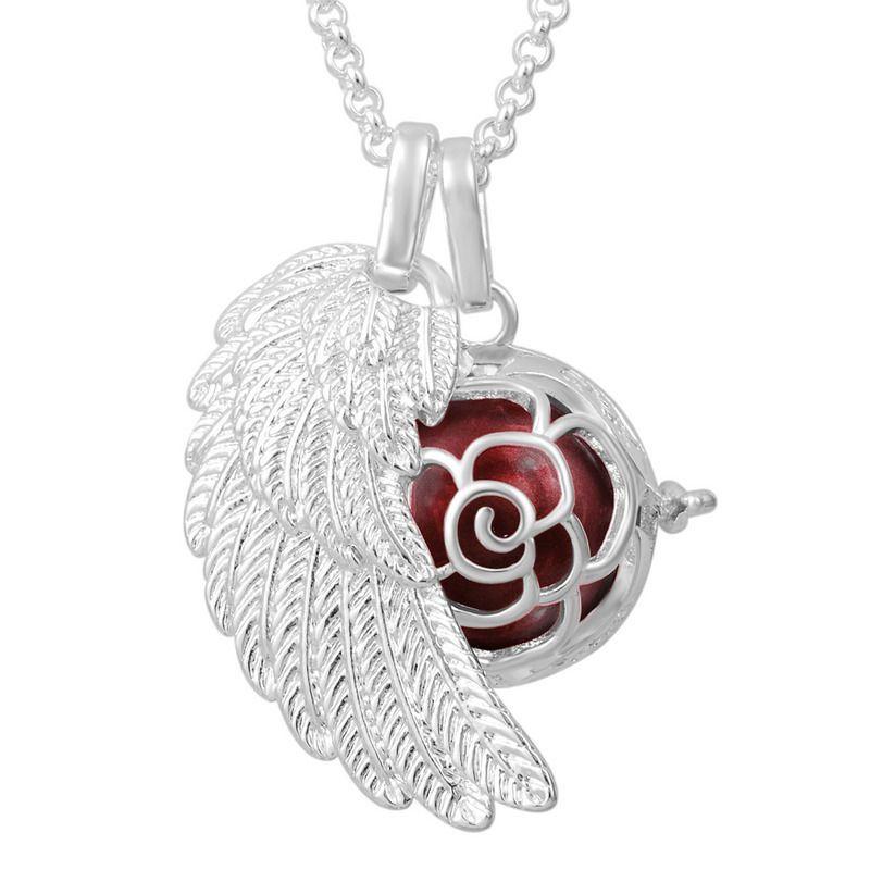 35 chain necklace harmony ball lockets pendants sterling silver 35 chain necklace harmony ball lockets pendants sterling silver angel wing aloadofball Gallery