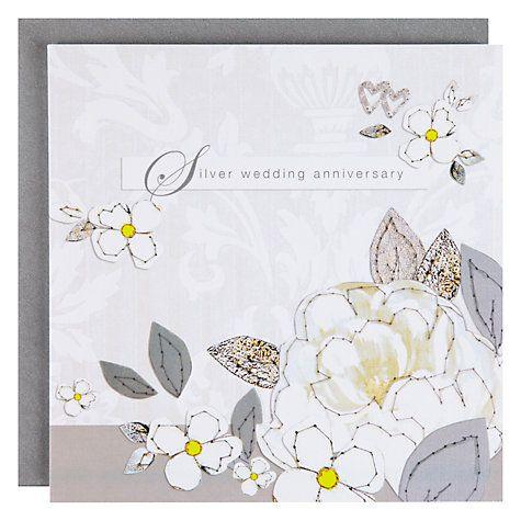 Black Olive 25th Wedding Anniversary Card Wedding Anniversary Cards 25th Wedding Anniversary Anniversary Cards