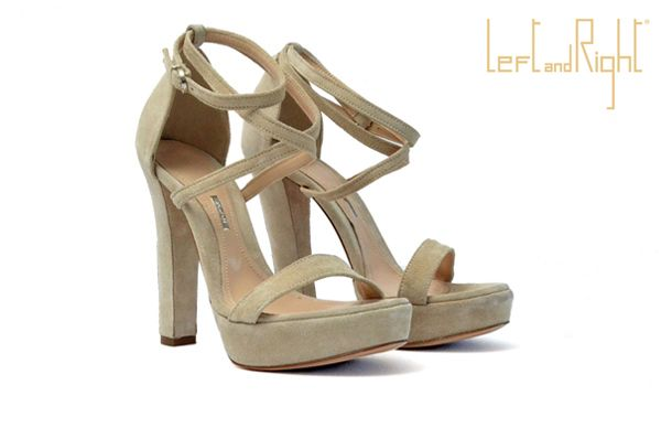 V204-Sandals in crust leather heel 10 color ice