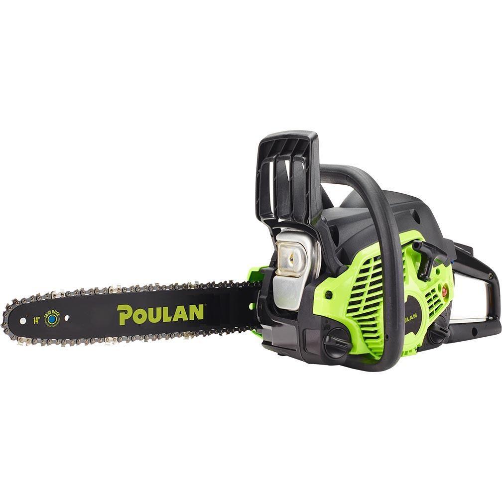 Poulan 14 Steel Bar 33cc Gas Chain Saw 2 Cycle Pl3314
