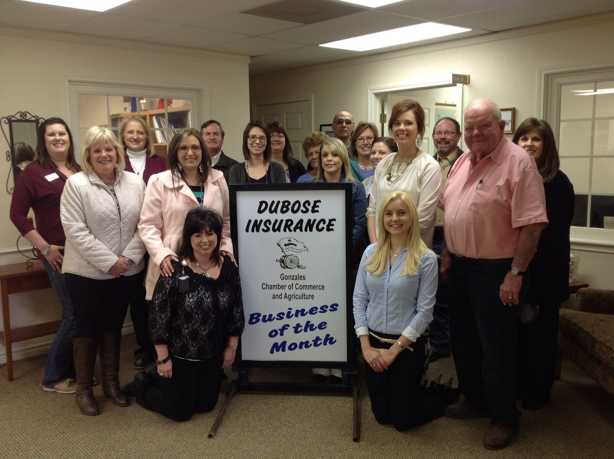 Congrats to dubose insurance agency for being our
