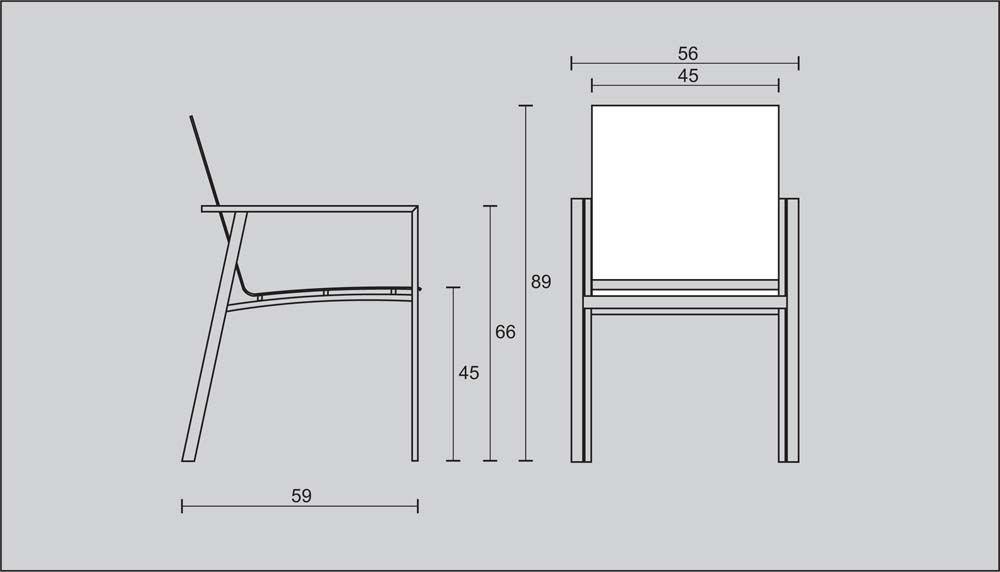 Chair Dimension Dimensions Pinterest Bistro Set
