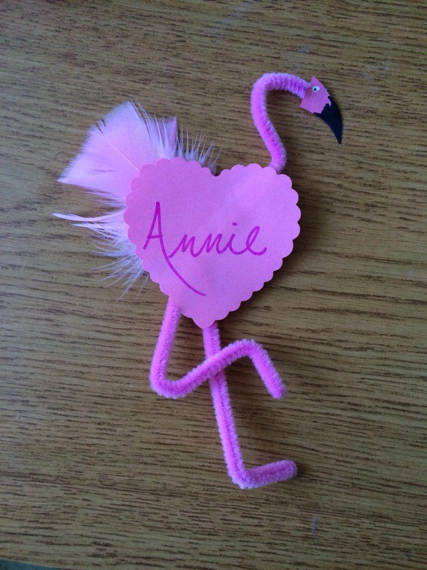 Flamingo door dec great for february door decorations