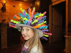 Watch Me Grow: 100th Day of School #crazyhatdayideas