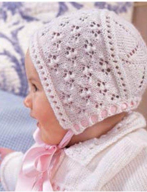 664a3e400 Bábätkovská čiapočka Baby Knitting Patterns, Háčkovacie Vzory, Layette,  Svetríky Pre Najmenších, Beanie