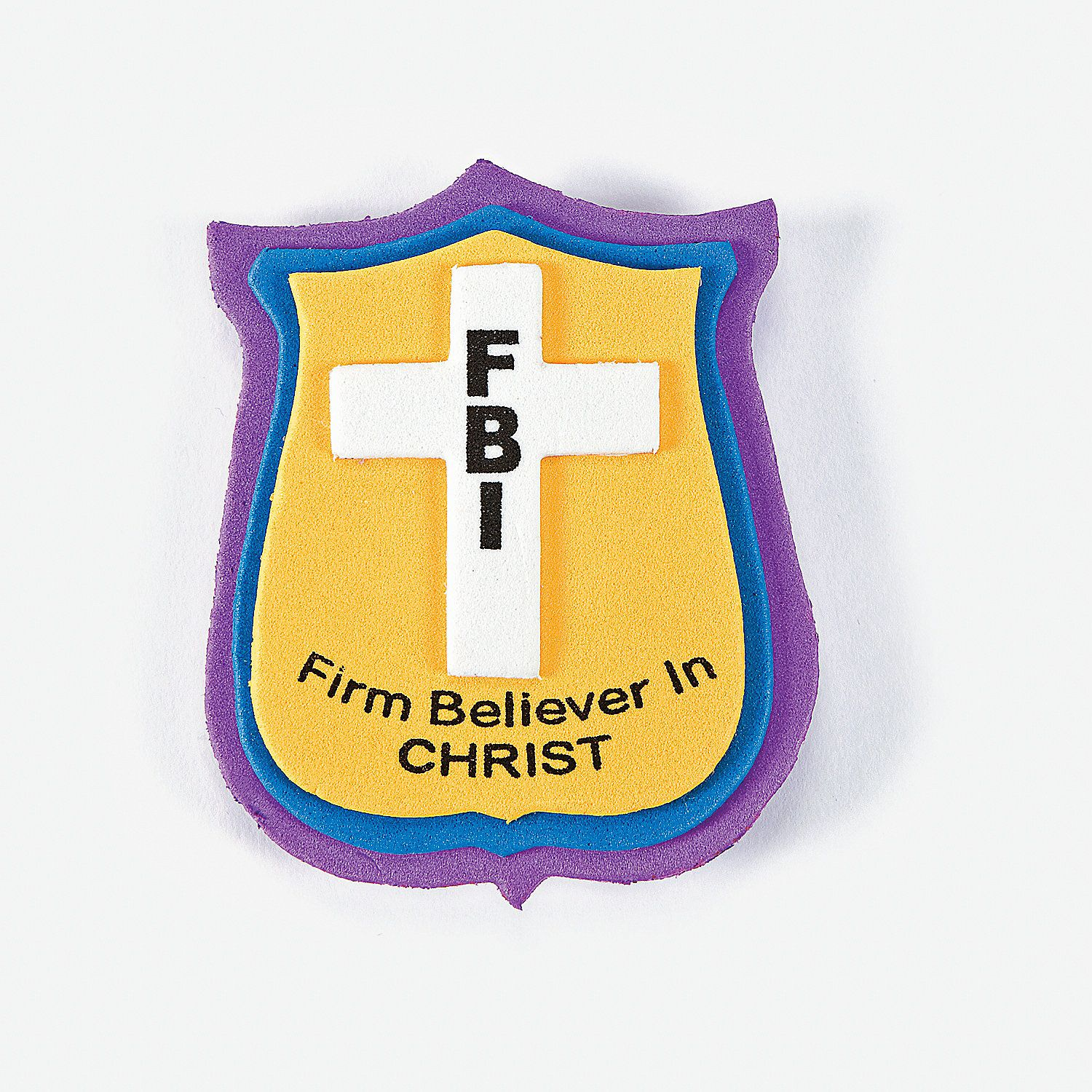 Oriental trading christian crafts -  Firm Believer In Christ Pin Craft Kit Orientaltrading Com