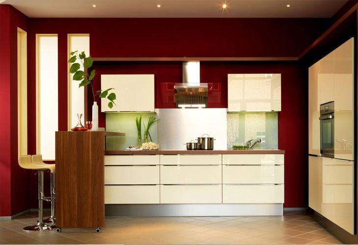 Küche in Vanille Kücheninsel Designerküche www.dyk360
