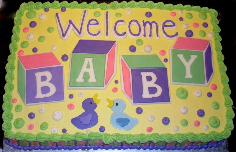 baby shower sheet cake ideas  recent photos the commons getty, Baby shower