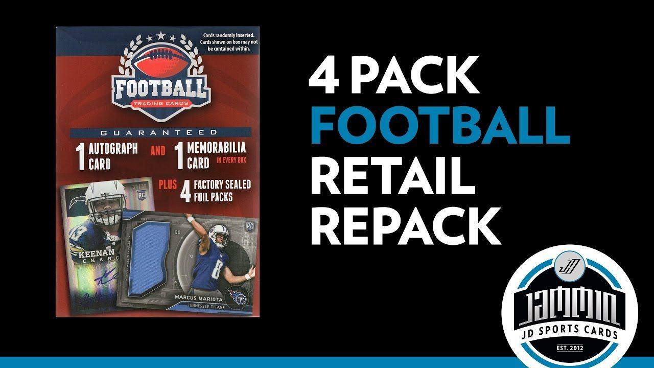 MJ Holding Football Repack 2 Hits & 4 Packs Football