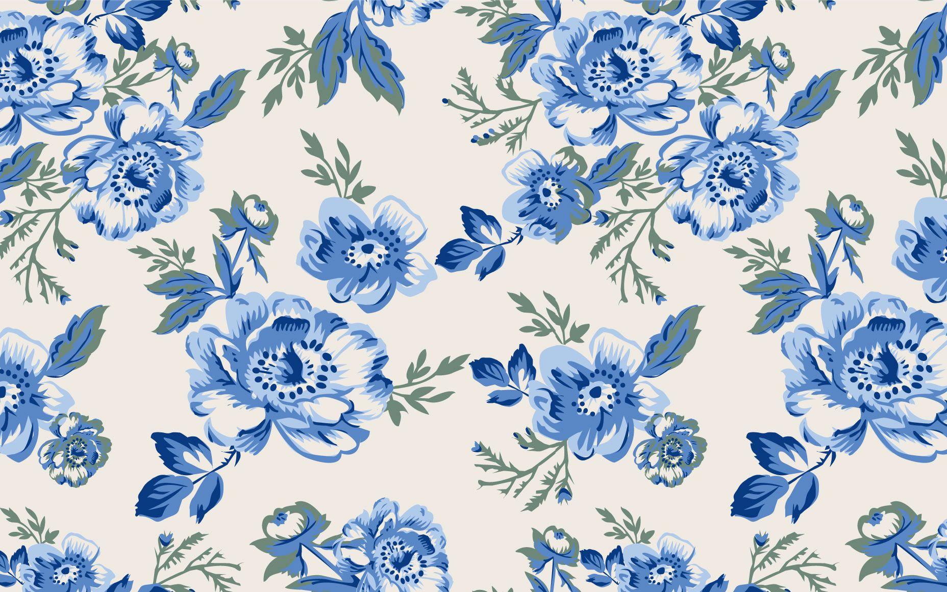 Vintage Blue Fl Wallpaper Migrant Resource Network Blue Vintage Floral Background Is Am In 2020 Vintage Flowers Wallpaper Vintage Floral Wallpapers Floral Background