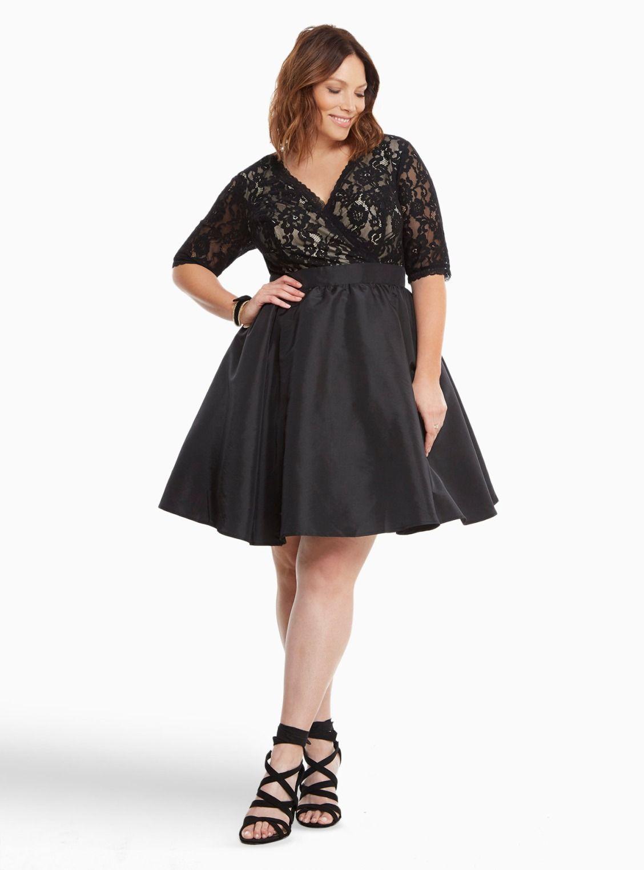Dress size 24 torrid dress 24 torrid black and white draped v neck - Party Dress On Torrid Plus Size Justgivemetorrid