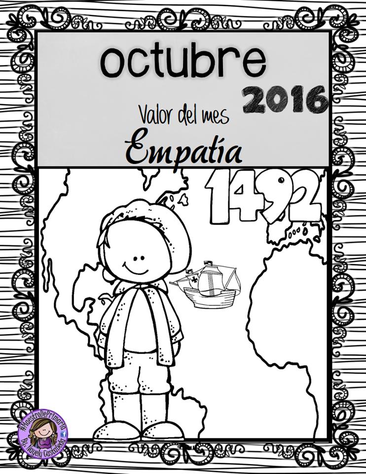 Pin by Blanca Castro on Preescolar Espanol | Pinterest | Octubre ...