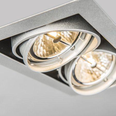 inbouwspot oneon 111 2 lampenlicht industrieel design kantoor