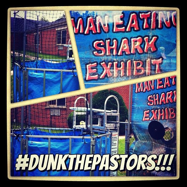 #DunkThePastors!!! Tonight at Wednesdays on the Lawn - 6:30pm EST.  All are invited :)  Bring a side dish or dessert to share and come support our Walk-In Ministry program.