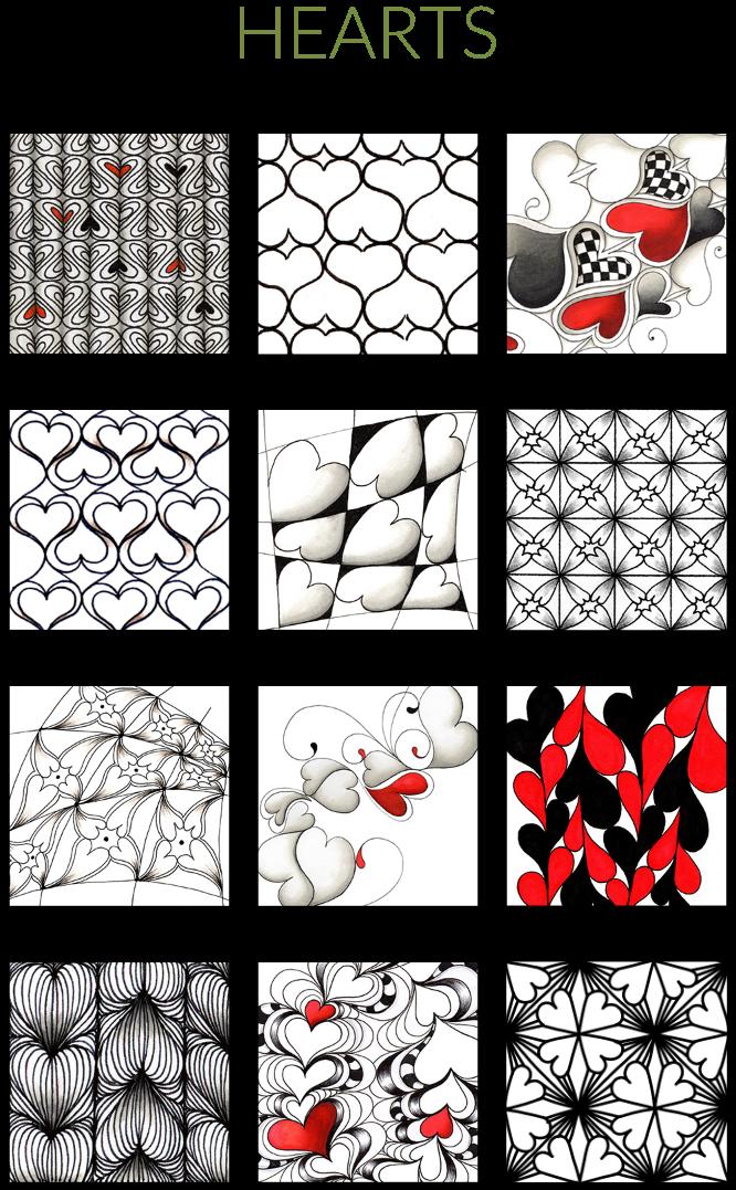 Patterns Zentangle Patterns Tangle Patterns