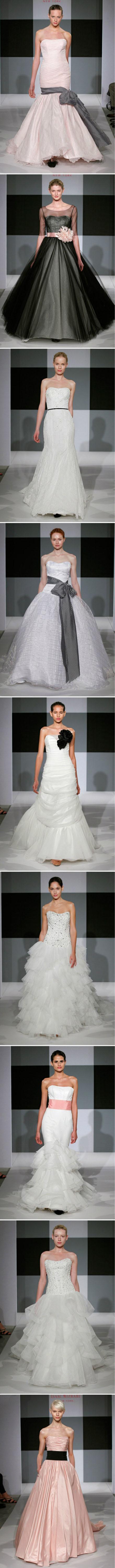 Isaac Mizrahi Wedding Dresses, White is the mainstream, multi ...