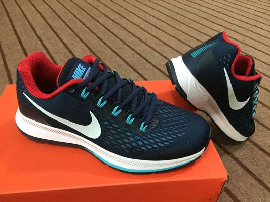 quality design 4c43a 888c7 Free Shipping Only 69  Nike Zoom Pegasus 34 Mens Running Shoes Dark Blue  Jade