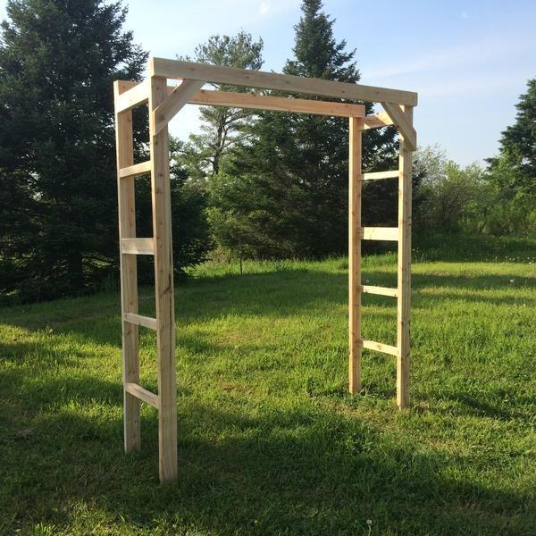 Rustic Wedding Arch Ideas: 19 Piece White Cedar Wedding Arch