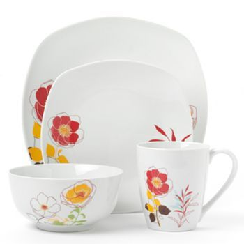 Corsica at Kohlu0027s - Shop our full selection of Corsica products including this Corsica Calabasas Dinnerware Set at Kohlu0027s.  sc 1 st  Pinterest & Corsica Calabasas 16-pc. Dinnerware Set | For the Home - Kitchen ...