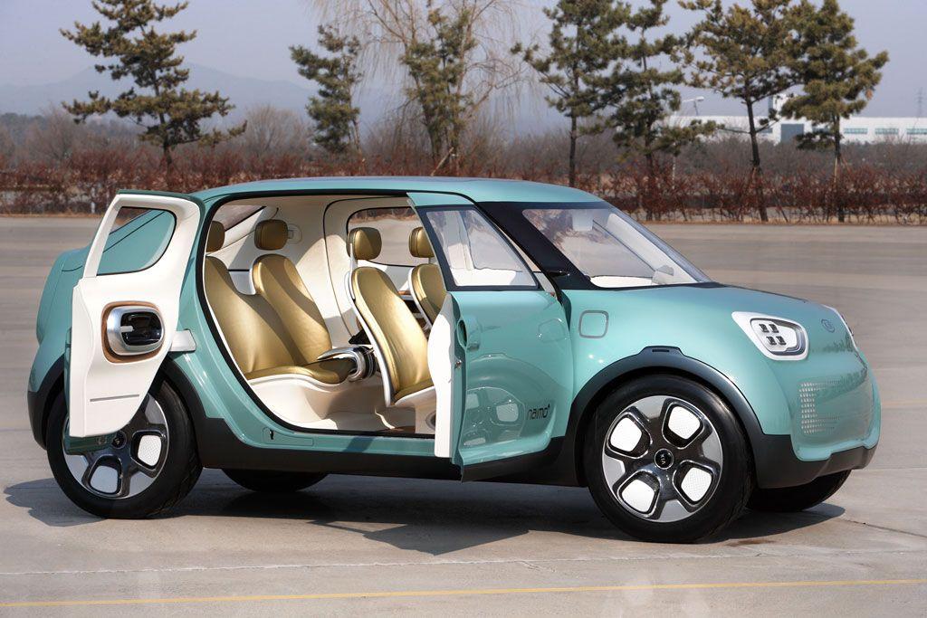 Kia Naimo Electric Concept Pillar Less Design Cars Pinterest