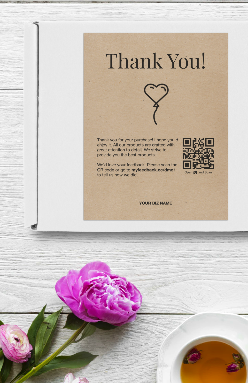 Business Thank You Cards Thank You For Your Order Cards Editable Printable Get Customer Business Thank You Cards Business Thank You Thank You Card Design