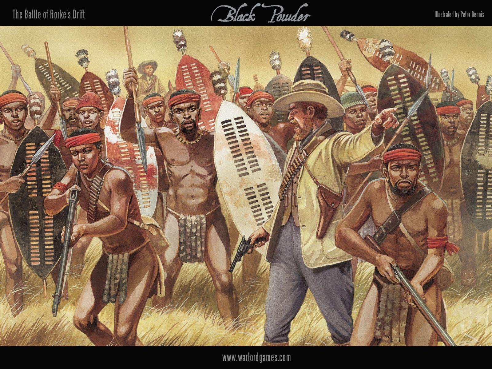 zulu war Warlord Games Natal Native contingent sprue