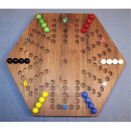 Marble Game With Wooden Board The Puzzleman Toys W1935 Wooden Marble Game Board  Aggravation