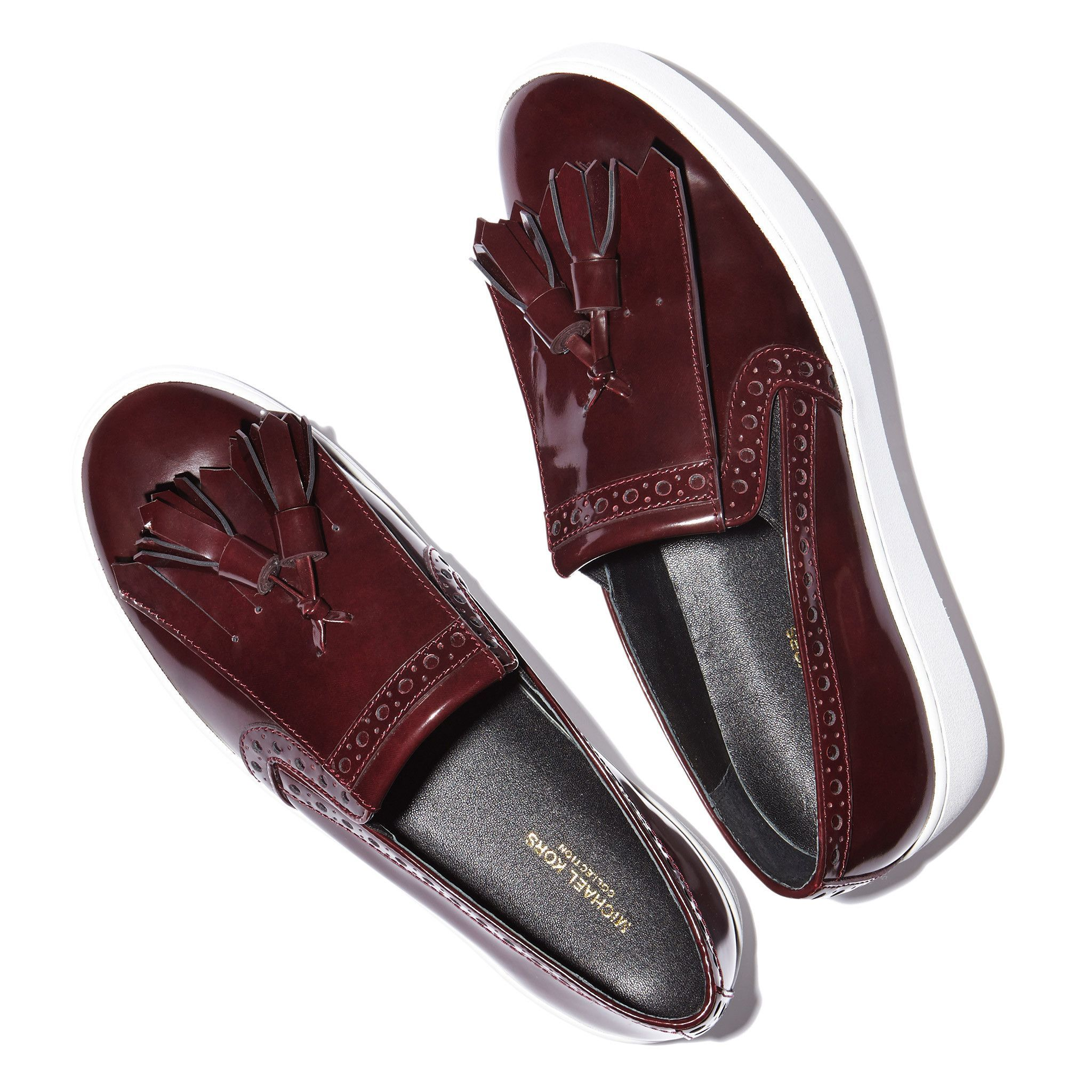Vesey Patent Leather Slip-On with a Tassle