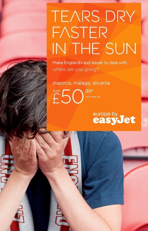 Easyjet Advertising Airline Carrier Airline Airways Ad