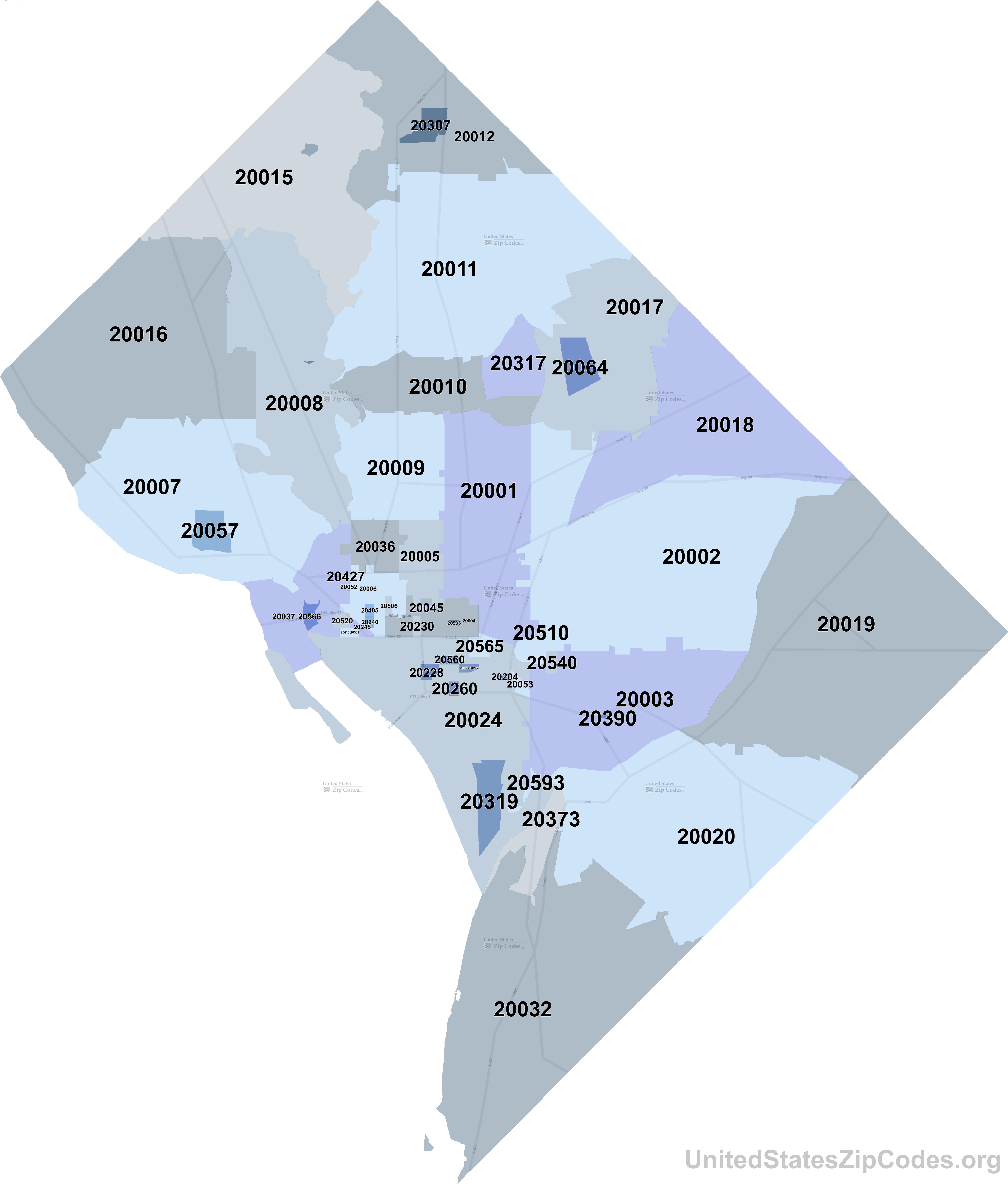 Dc Zip Code Map washington dc zip code map.png (6383×7500) (With images) | Zip