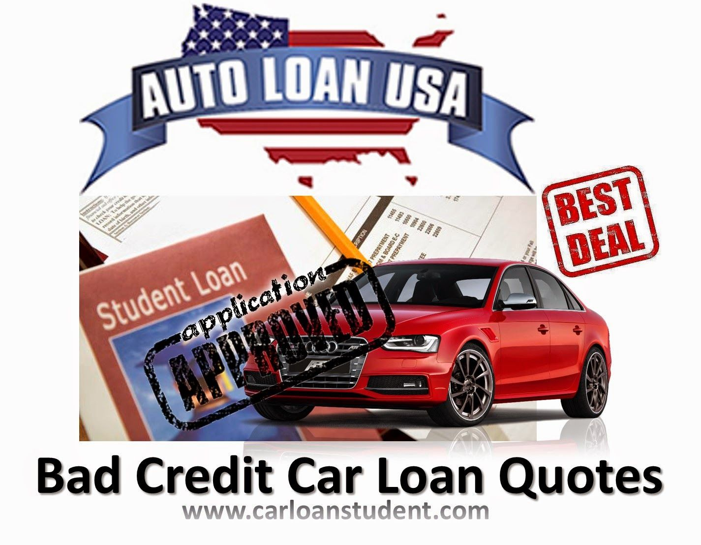 Bad credit car loans quotes online for poor credit history