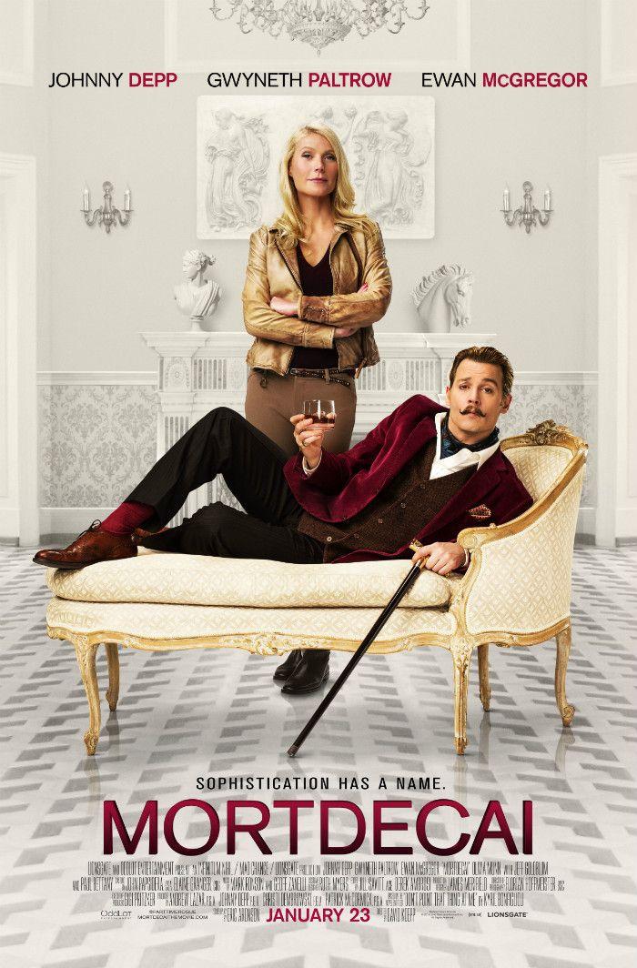 New 'Mortdecai' Trailer   Starring Johnny Depp, Ewan McGregor, Olivia Munn & Gwyneth Paltrow